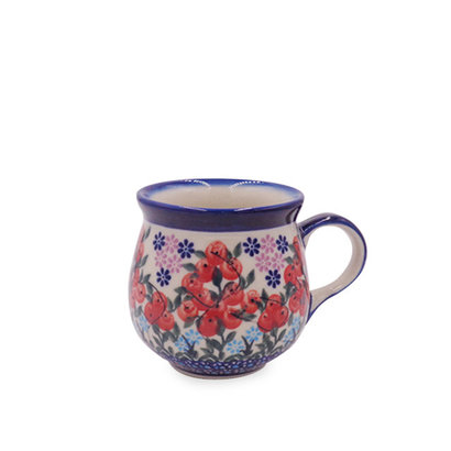 Kalich Red Berries Bubble Mug - Sm