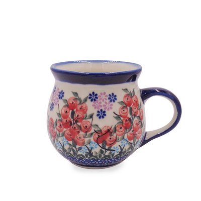 Kalich Red Berries Bubble Mug