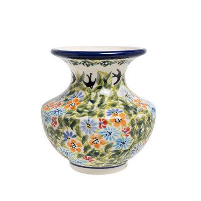 Black Birds Fly Classic Vase