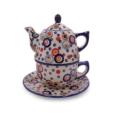 Ohhh! Stacked Teapot & Cup