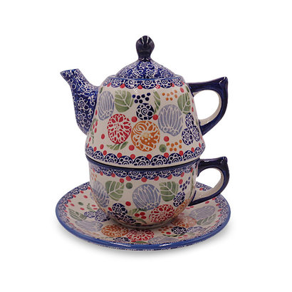 Rennie Stacked Teapot & Cup