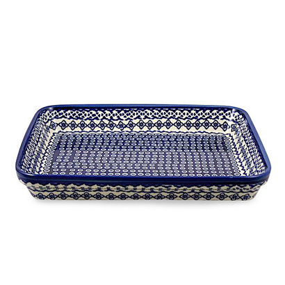 Diamond Lattice Rectangular Baker - Lrg