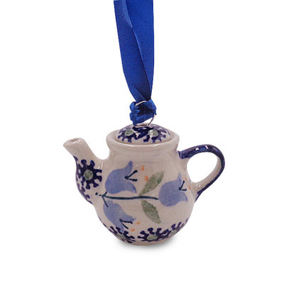 Bell Flower Teapot Ornament