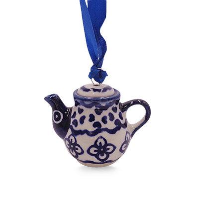 Diamond Lattice Teapot Ornament
