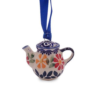 Marigolds Teapot Ornament