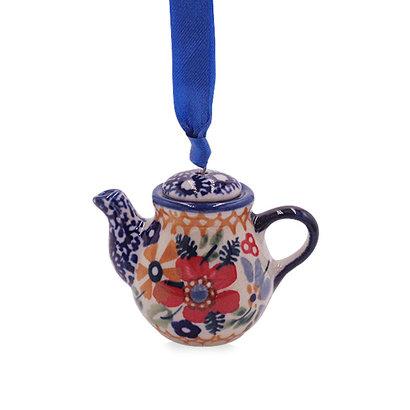 Posies Teapot Ornament