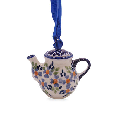 Wisteria Teapot Ornament