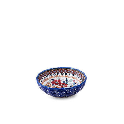 Posies Scalloped Dish 12