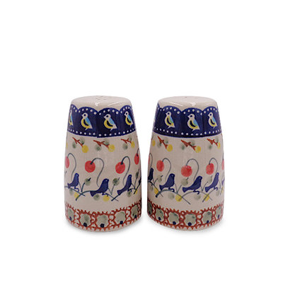 Blue Bird Salt & Pepper Tall