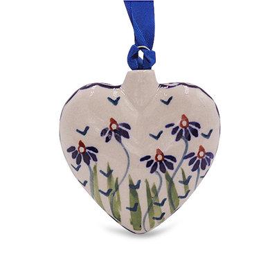 Addie Jo Puffy Heart Ornament
