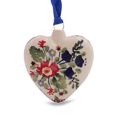 Lidia Puffy Heart Ornament