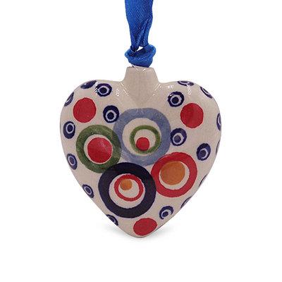 Ohhh! Puffy Heart Ornament