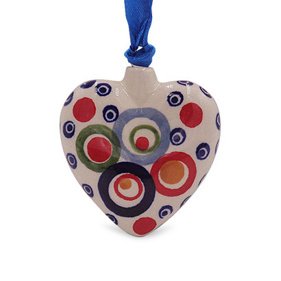 Ohhh! Puffy Heart Ornament