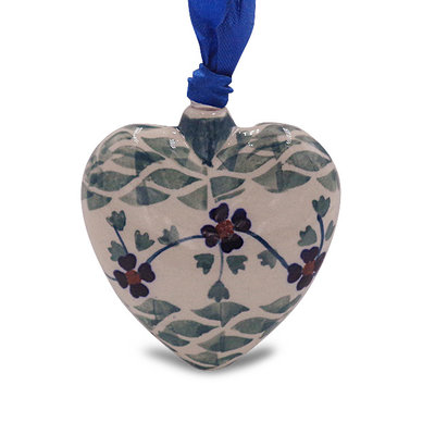 Rhine Valley Puffy Heart Ornament