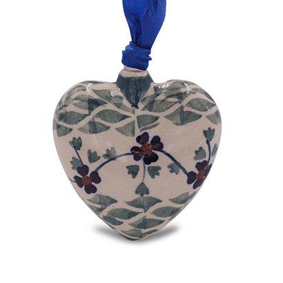 Rhine Valley Puffy Heart Ornament