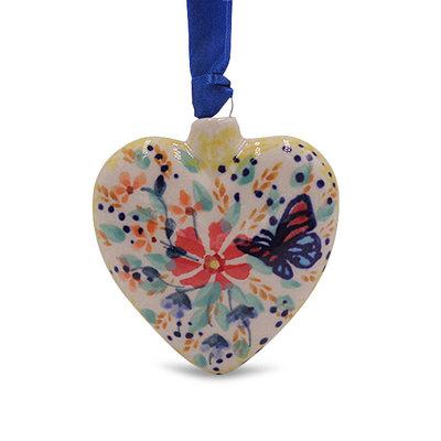 Viktoria Puffy Heart Ornament