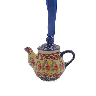 Rose Marie Teapot Ornament