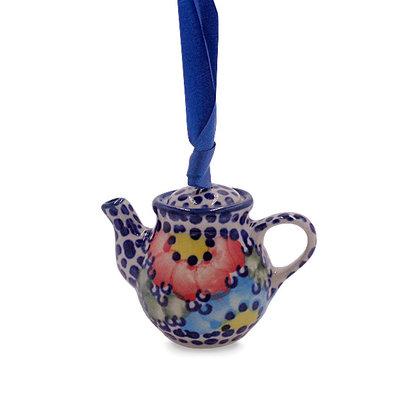 Gypsy Jazz Teapot Ornament