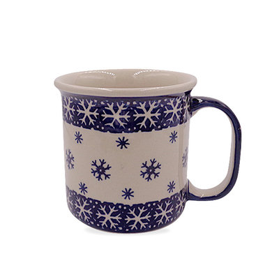 Snow Flake Straight Mug