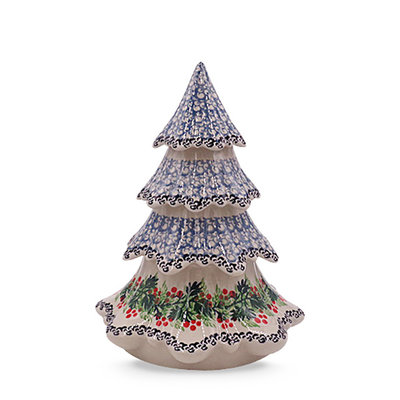 "Holly Berry 7 1/2"" Christmas Tree"