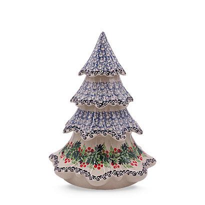 "Holly Berry 7 1/2"" Christmas Tree"