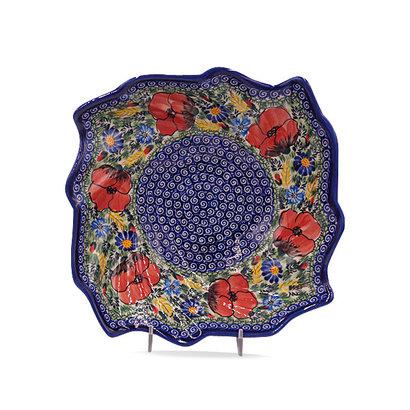 Kalich Wild Poppies Swirl Bowl