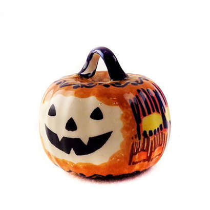 Candy Corn Pumpkin Ornament