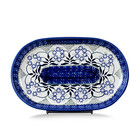 Forget Me Nots Oval Tray - Sm