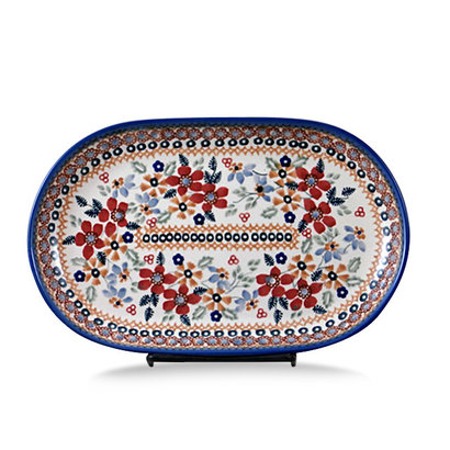 Posies Oval Tray - Sm