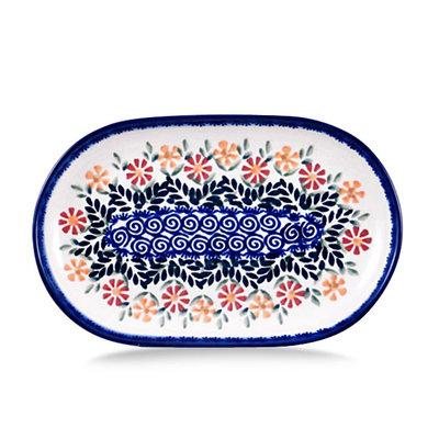 Marigolds Oval Tray - Sm