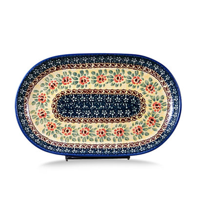 Rose Marie Oval Tray - Sm