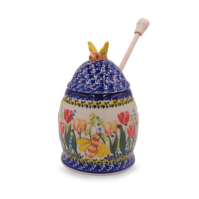 Tulip Honey Pot