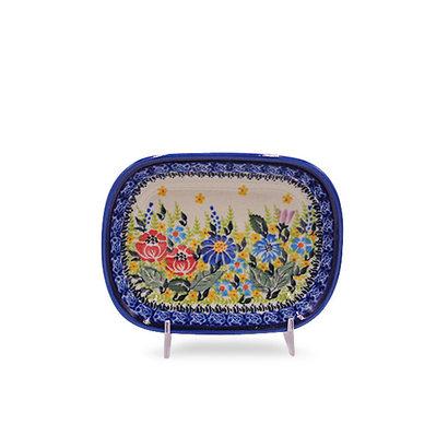Anne's Garden Butter Plate