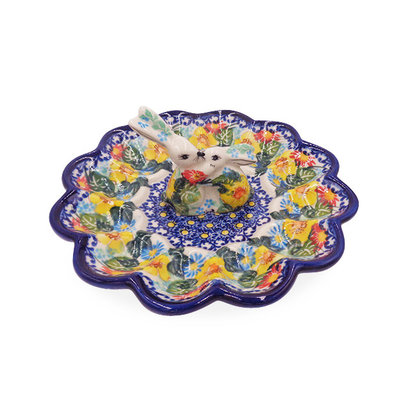 Kalich Lucious Bunny Egg Plate
