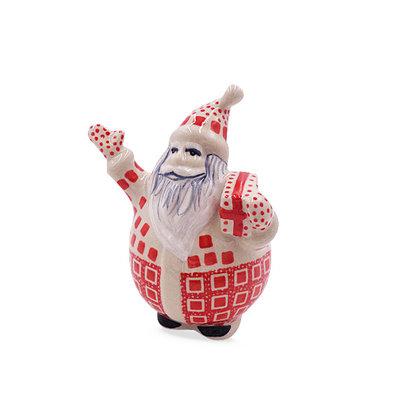 Ruby Cube Bubble Santa