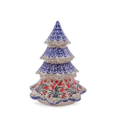 "Crimson Bells 7 1/2"" Christmas Tree"