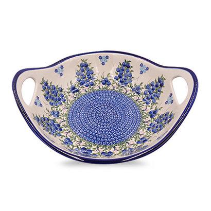 Blue Berries Zosia Bowl - Lrg