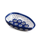 Dotted Peacock Spoon Rest