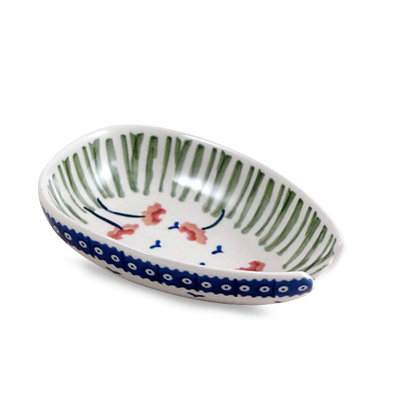 Red Poppies Spoon Rest