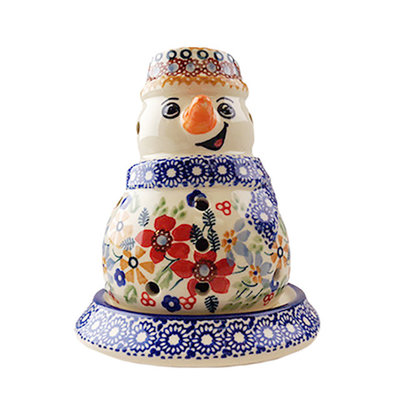 Posies Illuminated Snowman