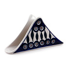 Peacock Triangular Napkin Holder