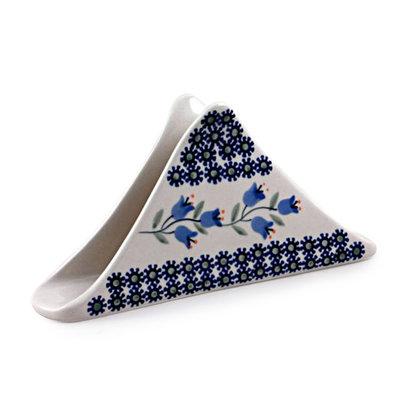 Bell Flower Triangular Napkin Holder