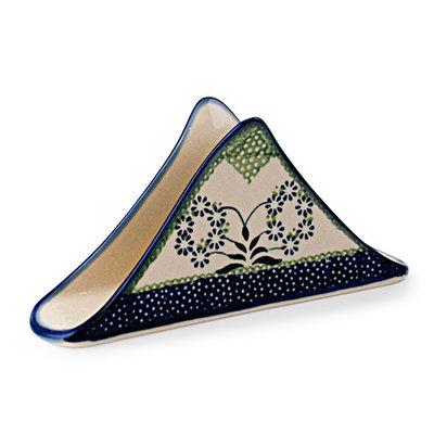 Forget Me Nots Triangular Napkin Holder