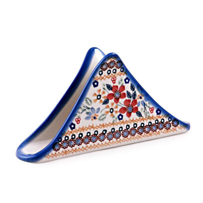 Posies Triangular Napkin Holder