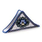 Pansies Triangular Napkin Holder