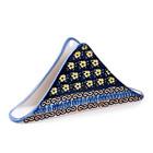 Midnight Daisy Triangular Napkin Holder