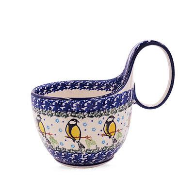 Yellow Sinitsa Loop Handled Soup Cup