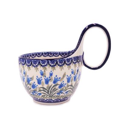 Blue Bells Loop-Handled Soup Cup