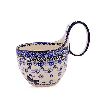 Dragonfly Loop Handled Soup Cup
