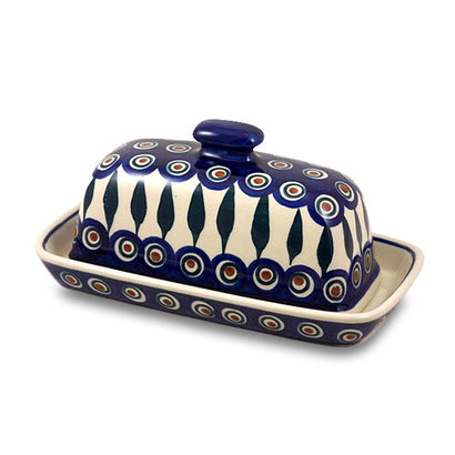 Peacock Butter Dish